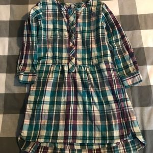 Tea Collection Size 5 Flannel Dress